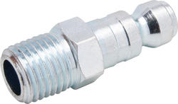 "1/4"" x 3/8"" Zinc Male-to-Male Automotive Plug"