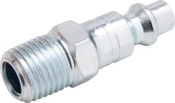 "1/4"" x 3/8"" Zinc Male-to-Male Industrial Plug"