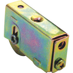 """Prime-Line 2-3/8"""" x 1-1/4"""" Adjustable Steel Ball Bearing Roller Assembly with Steel Wheel"""