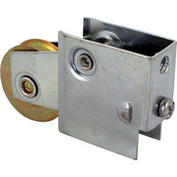 """Prime-Line 1-1/2"""" x 1-5/8"""" Adjustable Steel Ball Bearing Roller Assembly with Steel Wheel"""