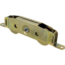 """Prime-Line 5-3/4"""" Adjustable Steel Ball Bearing Tandem Roller Assembly with Steel Wheels"""