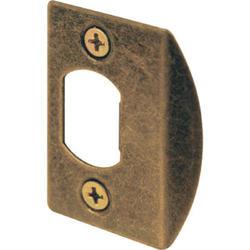 "Prime-Line 2-Pack 1-5/8"" Steel Standard Latch Strikes"