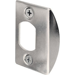 "Prime-Line 2-Pack 1-5/8"" Steel Standard Latch Strikes"