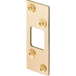 "Prime-Line 1-1/4"" x 3-5/8"" Steel Security Deadbolt Strike"