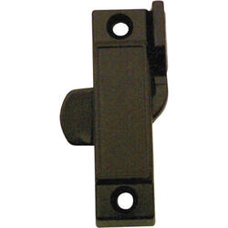 "Prime-Line 2-1/4"" Black Diecast Sash Lock with 3/8"" Latch Projection"
