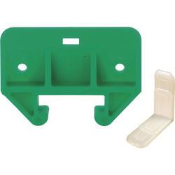 """Prime-Line 1-1/8"""" Green Polyethylene Drawer Track Guide Kit"""