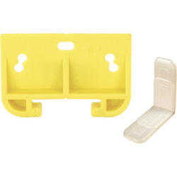 "Prime-Line 1-5/16"" Yellow Plastic Drawer Track Guide Kit"