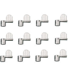"""Prime-Line 12-Pack Zinc-Plated Diecast Screen Clips with 3/8"""" Offset"""