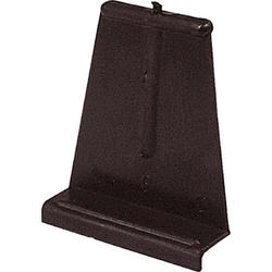 """Prime-Line 6-Pack Black Plastic Screen Lift Tabs with 1/4"""" Span"""