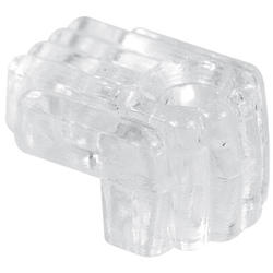 "Prime-Line 6-Pack 1/4"" Depth Clear Acrylic Mirror Clips"
