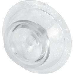 """Prime-Line 2-Pack 2-5/16"""" Diameter Clear Vinyl Door Bumpers"""