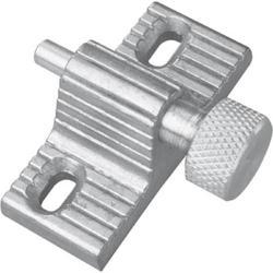 """Prime-Line 1-9/16"""" Zinc Twist-In Patio Door Lock"""