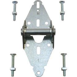 """Prime-Line 3"""" Wide 14-Gauge Steel No. 1 Standard Garage Door Hinge"""