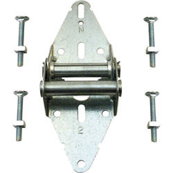 "Prime-Line 3"" Wide 14-Gauge Steel No. 2 Standard Garage Door Hinge"