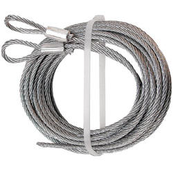 "Prime-Line 2-Pack 3/32"" x 8' 6"" Carbon Steel Torsion Spring Cables"