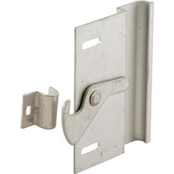 "Prime-Line 3-5/8"" Aluminum Sliding Screen Door Left-Handed Latch and Pull"