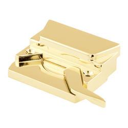 "Prime-Line 3"" Brass Finish Left Hand Entryguard Casement Sash Lock"