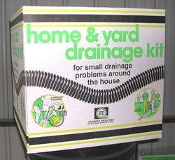 "2"" Perforated Home & Yard Drainage Kit"
