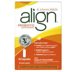 Align Probiotic Digestive Supplement Capsules - 42-ct