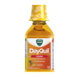 Vicks DayQuil Cough Suppressant Liquid - 12 oz
