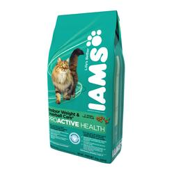 Iams ProActive Health Weight & Hairball Care Cat Food - 5 lb