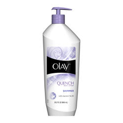 Olay Quench Shimmer Body Lotion - 20.2 oz