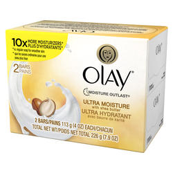 Olay Ultra Moisture Beauty Bar Soap - 2-ct