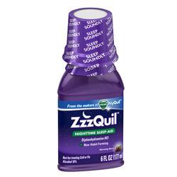 Vicks ZzzQuil Nighttime Sleep-Aid Liquid - 6 oz