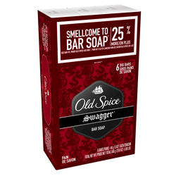 Old Spice Red Zone Swagger Bar Soap - 6-pk