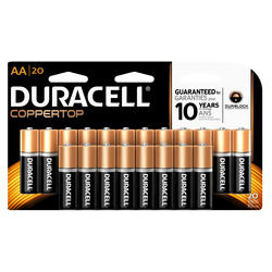 Duracell CopperTop AA Alkaline Batteries - 20-pk