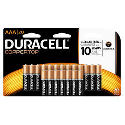 Duracell CopperTop AAA Alkaline Batteries - 20-pk