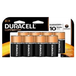 Duracell CopperTop D Alkaline Batteries - 8-pk