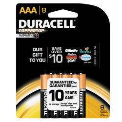 Duracell CopperTop AAA Alkaline Batteries - 8-pk