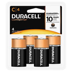 Duracell CopperTop C Alkaline Batteries - 4-pk