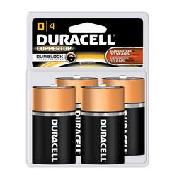 Duracell CopperTop D Alkaline Batteries - 4-pk