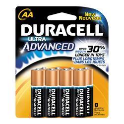 Duracell Ultra AA Alkaline Batteries - 8-pk