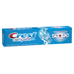 Crest Whitening Plus Scope Cool Peppermint Toothpaste - 8 oz