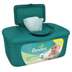 Pampers Unscented Baby Wipes - 72-ct