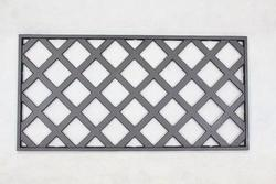 "28""W x 14""H Lattice Cast Iron Panel"