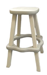 Spa Side Stool (Gray)