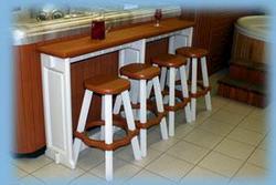 Spa Side Bar (Redwood)