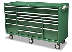 """Masterforce® 72"""" 15-Drawer Tool Cart"""