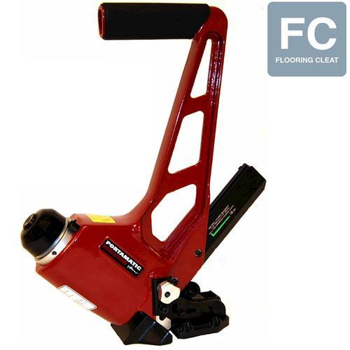 Porta nails portamatic evolution 18 gauge floor nailer at for 18 gauge pneumatic floor nailer