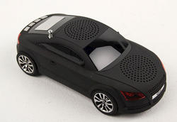 Black Car-Shaped Media Speaker
