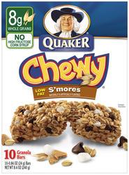 Quaker Chewy S'mores Granola Bars - 8-pk