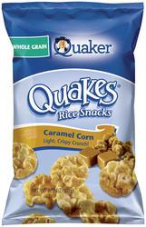 Quaker Quakes Caramel Corn Rice Snacks - 3.52 oz
