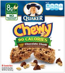 Quaker Chewy Chocolate Chunk Granola Bars - 8-pk