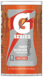Gatorade Fruit Punch Powder Drink Mix - 8-pk