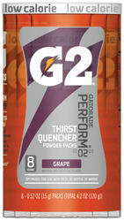 Gatorade G2 Grape Powder Drink Mix - 8-pk