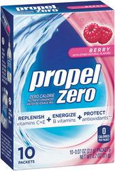 Propel Zero Berry Powder Drink Mix - 10-pk